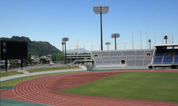 紀三井寺県営野球場、陸上競技場